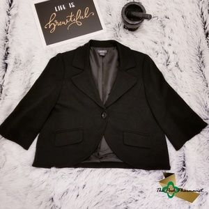 Kenneth Cole Reaction Cropped Blazer